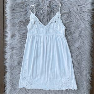 UO Staring at Stars Cami Embroidered Dress